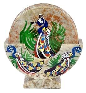 Tea Coaster Set - Marble