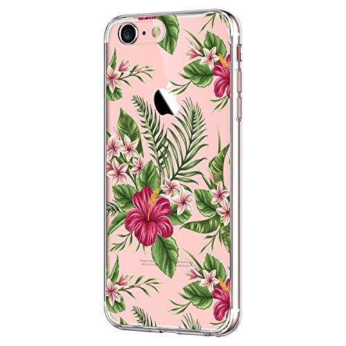 """Qissy iPhone 7 Funda, Carcasa iPhone 7 Transparente Case Cover Dibujos Animados Silicona Suave Funda para Apple iPhone 7 4.7"""" (B)"""