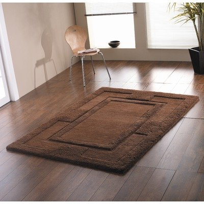Sierra Apollo Chocolate Contemporary Rug Size: 150cm x 210cm