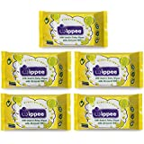 Wippee 30N Usable Baby Wipes With Almond Oil ( Pack Of 5)