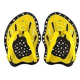 koowaa Profi Schwimmtraining Handpaddel, Power Paddel, Schwimmtrainingshilfe, große Flache Paddel