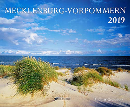 Mecklenburg-Vorpommern 2019: Wandkalender