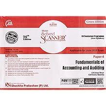 Shuchita Prakashan's Fundamentals of Accounting & Auditing Solved Scanner For CS Foundation Paper 4, June 2018 Exam by CA. Amar Omar