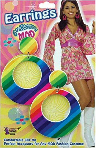 Erwachsene Damen Groovy 60's Jahre Retro Kostüm Party -