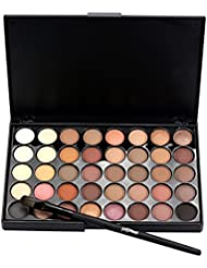ROPALIA 40 Colors Matte Eyeshadow Palette Eye Makeup Set