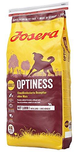 hundeinfo24.de Josera Optiness Hundefutter ohne Mais