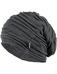 Kenmont unisexe Hiver Homme en coton mercerisé Bonnet Slouch Cap