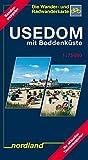 Nordland Karten, Usedom mit Boddenküste (Deutsche Ostseeküste) - Klaus Hellwich