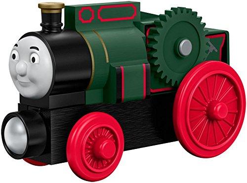 Mattel Fisher-Price DVL64 – Medium Holz-Lokomotive Trevor, Vorschul- Spielwelten