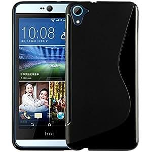 HTC Desire 826 Magic Brand S-Line Black Soft Silicon Back Cover Case