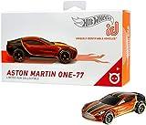 Hot Wheels iD FXB07 - Die-Cast Fahrzeug 1:64 Aston Martin One-77 mit NFC-Chip zum Scannen in der Hot...
