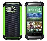 G-Shield Hülle für HTC Mini 2 Stoßfest Schutzhülle - Grün