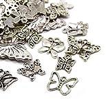 Wadoy  30 gram Antiek Zilver tibetanische willekeurige mengsel Charms Hanger (vlinder)