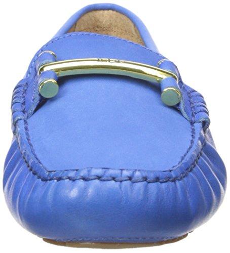 Lauren Ralph Lauren Caliana Slip-on Mocassins Summer Blue Soft Burnished Calf/Elko Nubuck