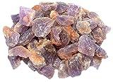 budawi® Amethyst Rohsteine (Brasilien), Dekosteine Brunnensteine Wassersteine (ca. 1000g)