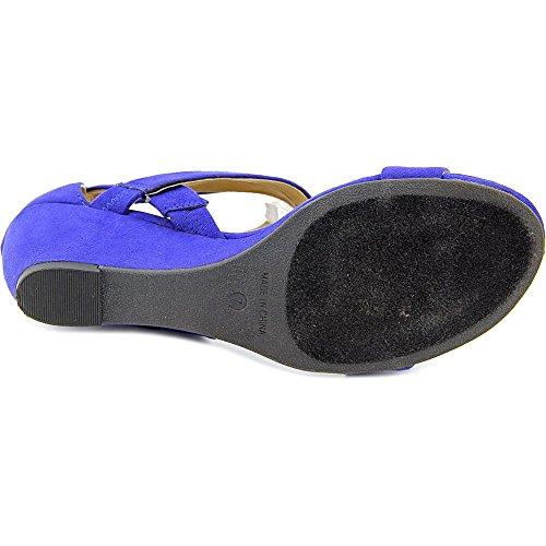 American Rag Casen Faux Wildleder Keilabsätze Sandale Ultramarine