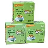 DULCILIGHT STEVIA 300 bustines, DOLCIFICANTE GRANULATO con il miglior sapore di stevia, prodotto della categoria Gourmet, confezione da 3 astucci x 100 C/U