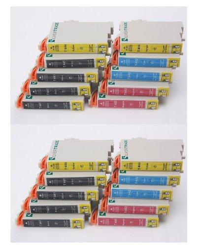 20 XL Tintenpatronen mit CHIP, kompatibel zu T0445 Multipack - (8x T0441...