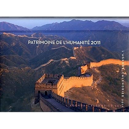 AGENDA CALENDRIER PATRIMOINE DE L'HUMANITE 2011