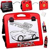 alles-meine.de GmbH Tischtafel - Schreibtafel / Maltafel / Reisetafel -  Disney Cars - Lightning ..
