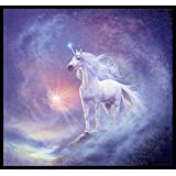 Wall Poster ASTRAL UNICORN With Matte Finish Decor Wall Sticker Art For Kitchen, Office, Bedroom, Living Room, Home, Drawing Room Vinayl, Wall Art Poster High Quality, Vibrant Print - Size: (12x18 Inches Or 18x12 Inches)