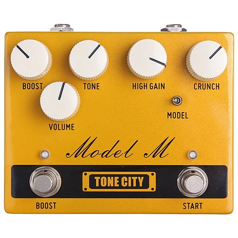 TONE CITY MODEL M · PEDAL GUITARRA ELECTRICA