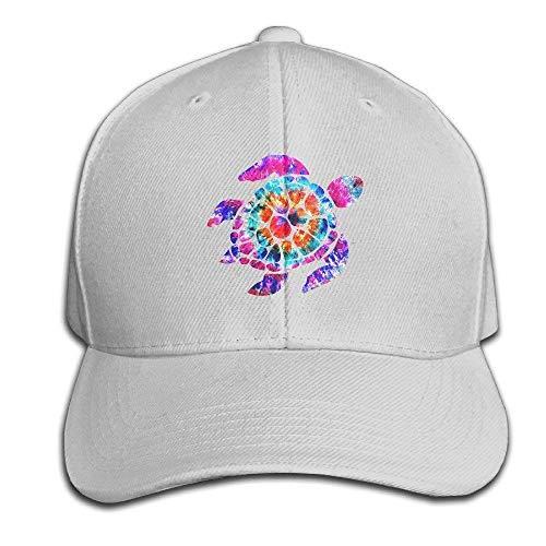 uykjuykj Baseball Caps Hats Funny Bag Tie Dye Turtle2 Baseball Caps  Unstructured Dad Hat 100% d71abf3712c8