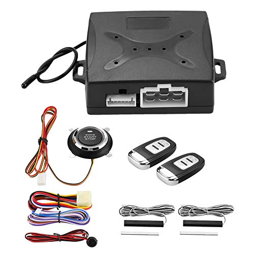 Yctze Universal Car Alarm System Motor Zündung Keyless Entry Push Button Remote Starter