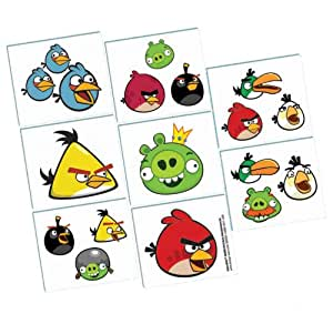 Angry Birds - Tatouages Temporaires