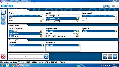 Autocom 2016 Auto Van LKW Delphi Diagnostic CDD DS150 Software CD & Downloadlink