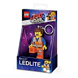 LEGO LGL-KE145 Emmet Key Light Schlüsselanhänger mit Taschenlampe, Orange - LEGO