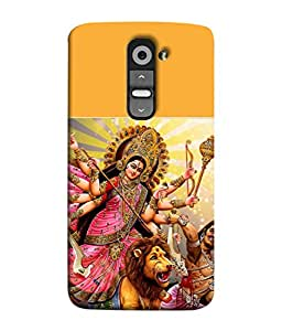 PrintVisa Designer Back Case Cover for LG G3 Mini (Superb fancy spiritual powerful maa navdurga)