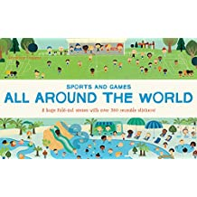 All Around the World Sports and Games (Sticker Books)