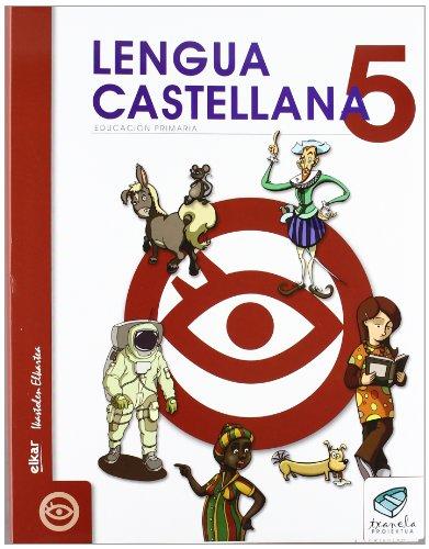 Txanela 5 - Lengua castellana 5 (6 liburuxka) - 9788497834438 por á