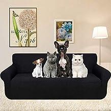 KOBWA Funda de sofá, 3 Plazas Cubiertas de sofá Slipcover de sofá Protector de Muebles
