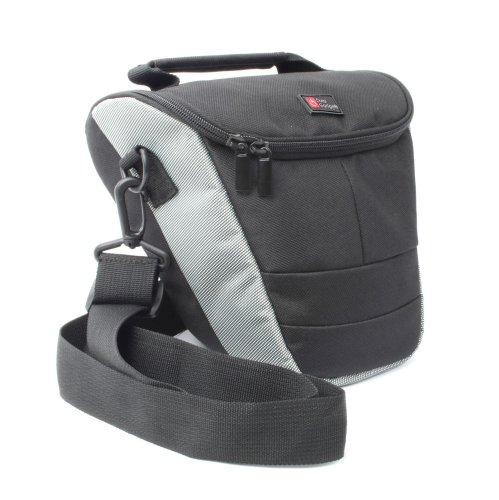 DURAGADGET Tasche für Digitalkameras mit Objektiv/Zoom und Spiegelreflexkameras (SLR Kameras) für Vivitar Kamera Zoom Vivitar Vivicam