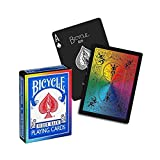 Carte Bicycle Rainbow black