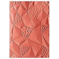 Sizzix Ellison Europe Sopa de triángulos por Katelyn Lizardi 3D Tief–Plantilla para Estampados