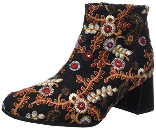 Gabor Shoes Damen Basic Stiefel, Schwarz (40 Schwa.Multic/Brown), 37 EU