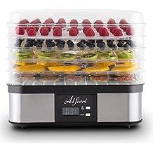 Essiccatore Per Alimenti Alfieri Appliances Scirocco A 5 Vassoi Removibili Da 245W Scocca In Alluminio