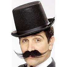 Smiffys - Barba y bigote para disfraz de adulto
