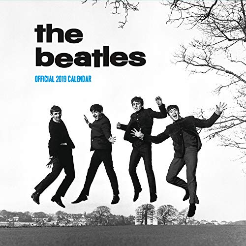 Beatles Official 2019 Calendar - Square Wall Calendar Format