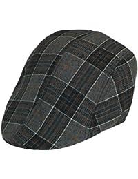 klassische Schiebermütze Flatcap Schirmmütze Mütze
