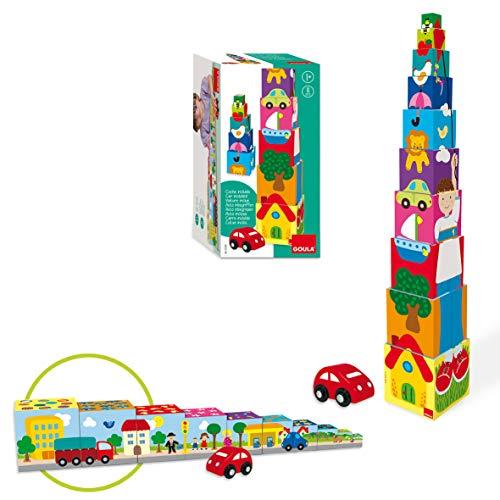 Goula - 55202 - Cubes empilables voiture