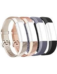 Tobfit Fitbit Alta Band Alta HR Bracelet Replacement en TPU Confortable Réglable Sport Bracelet Accessorie pour Fitbit Alta et Alta HR