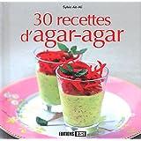 30 recettes d'agar-agar