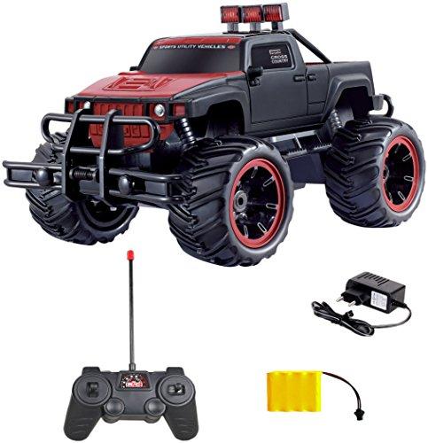 Diawell RC Ferngesteuertes Auto Pick Up Monster Truck Monstertruck Offroad Fernbedienung für Kinder und Erwachsene (Monster-truck-akku)