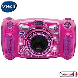 VTech - Kidizoom Duo 5.0 - Rose - Appareil Photo Enfant - Appareil Photo Numérique