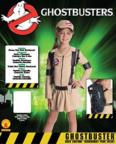 Imagen de vestido para niña rubie, oficial de los cazafantasmas, vestido con mochila, disfraz para niño, l alternativa