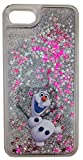 Gamma Shark iPhone 6/7/8 Olaf Coque Rigide Transparente avec Effet Boule de Neige Flottant Paillettes et Sable, iPhone 6/7/8, Transparent, iPhone 7+/8+ Plus